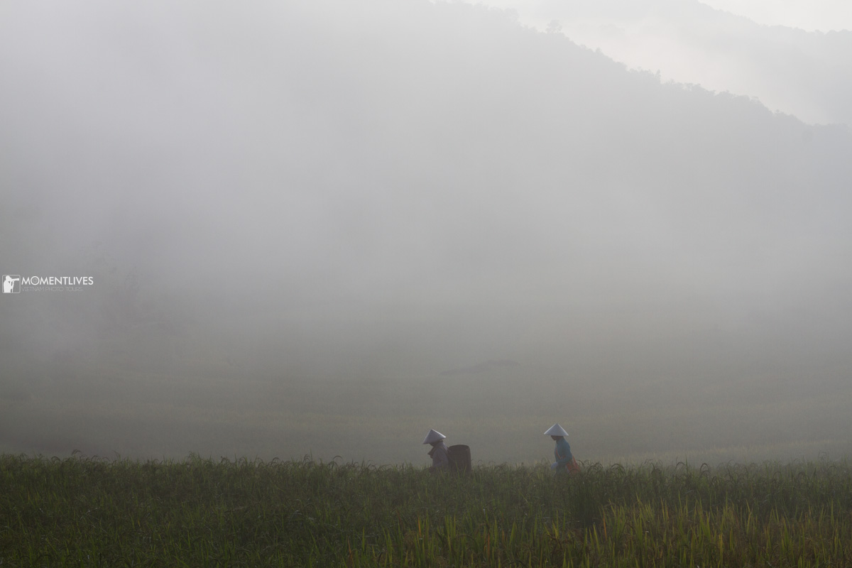 Misty Pu Luong during north Vietnam photography tour