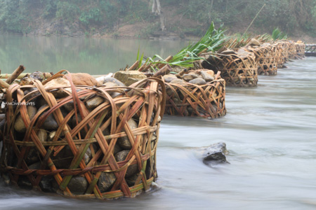 Stone-basket