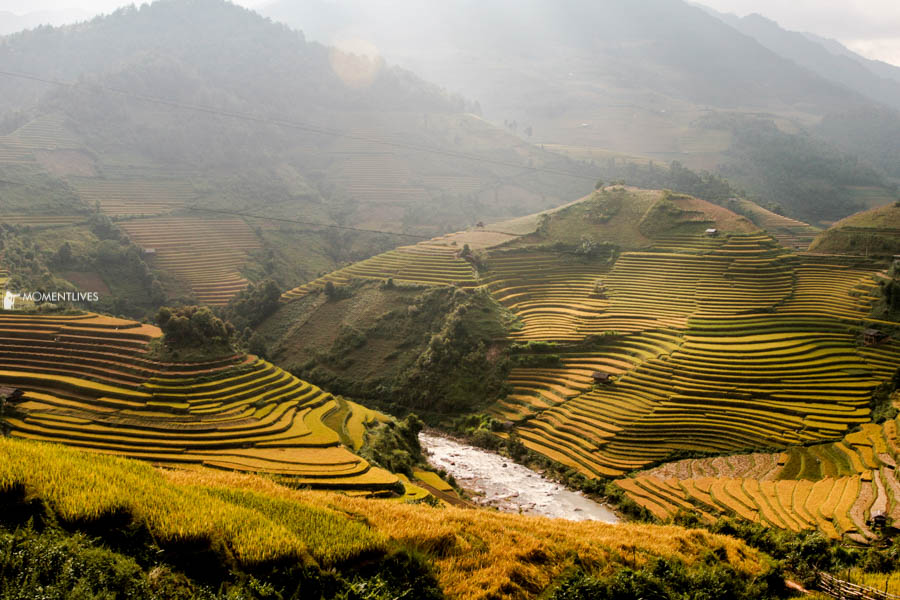 Photography tour to Rice terraces of Mu Cang Chai