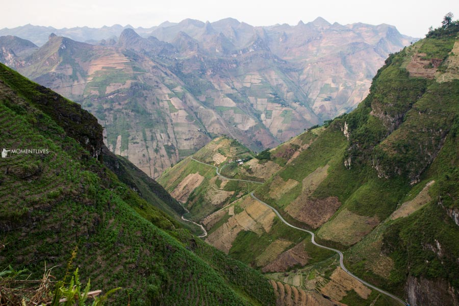 View from Ma Pi Leng pass, Ha Giang