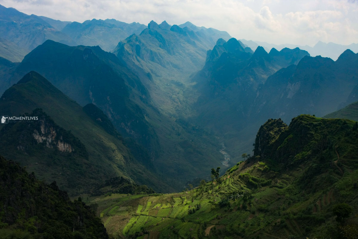 Ma Pi Leng pass in Ha Giang