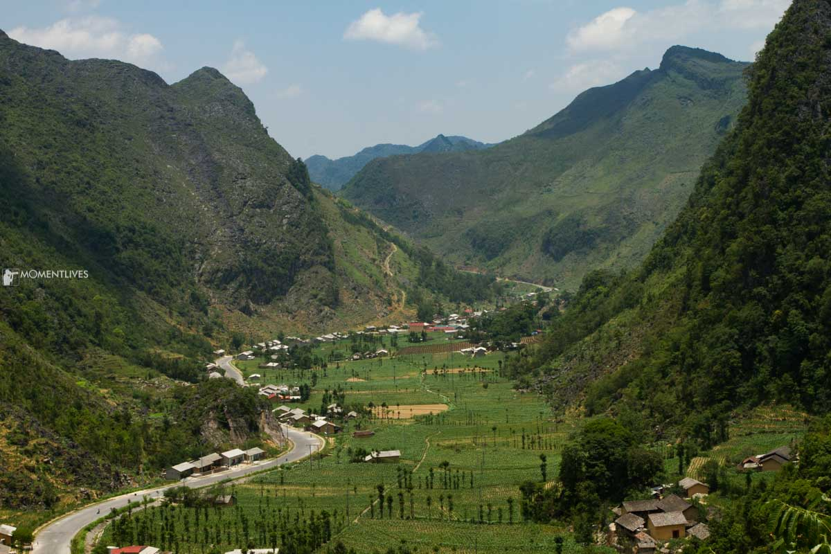 Panoramic view of Sung La, Ha Giang