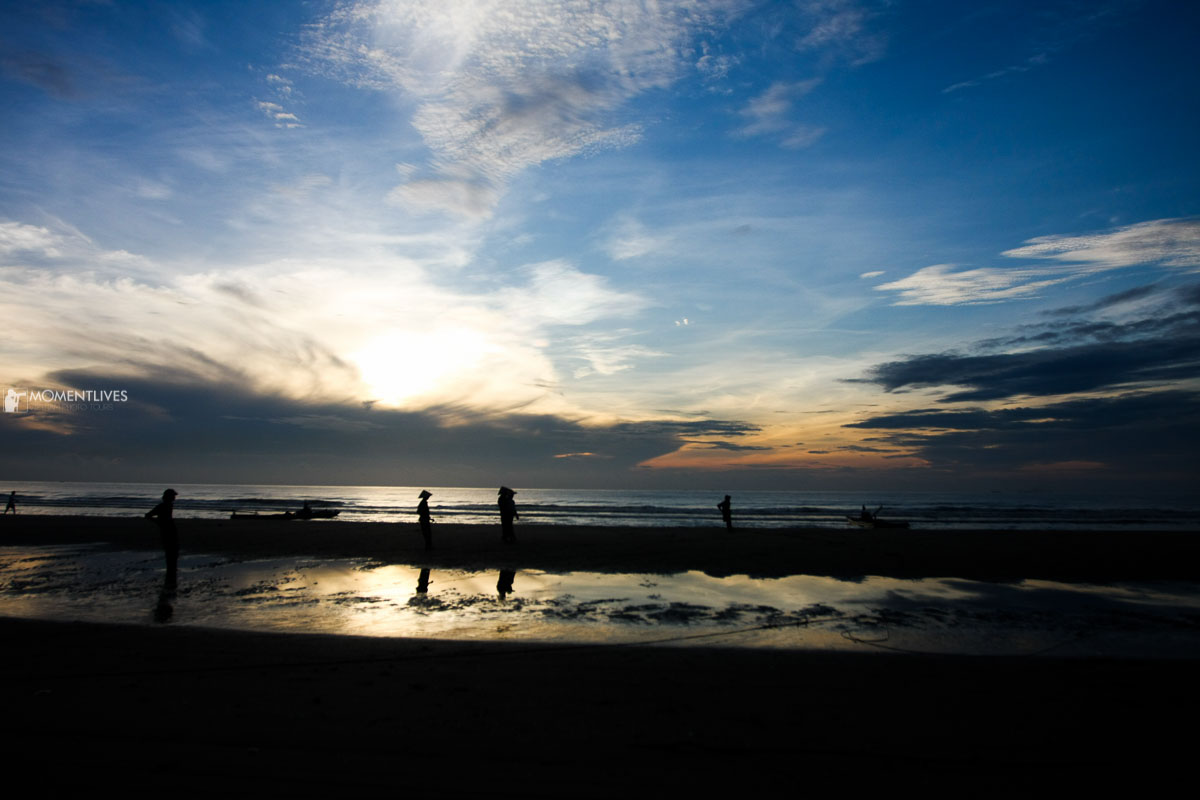 Photography tour at the beach of Thanh Hoa, Vietnam