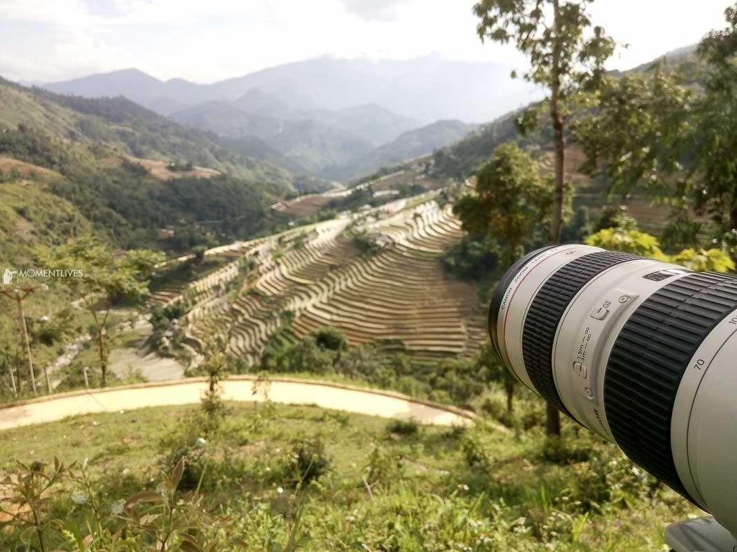 Landscape of Hoang Su Phi in Ha Giang, Vietnam