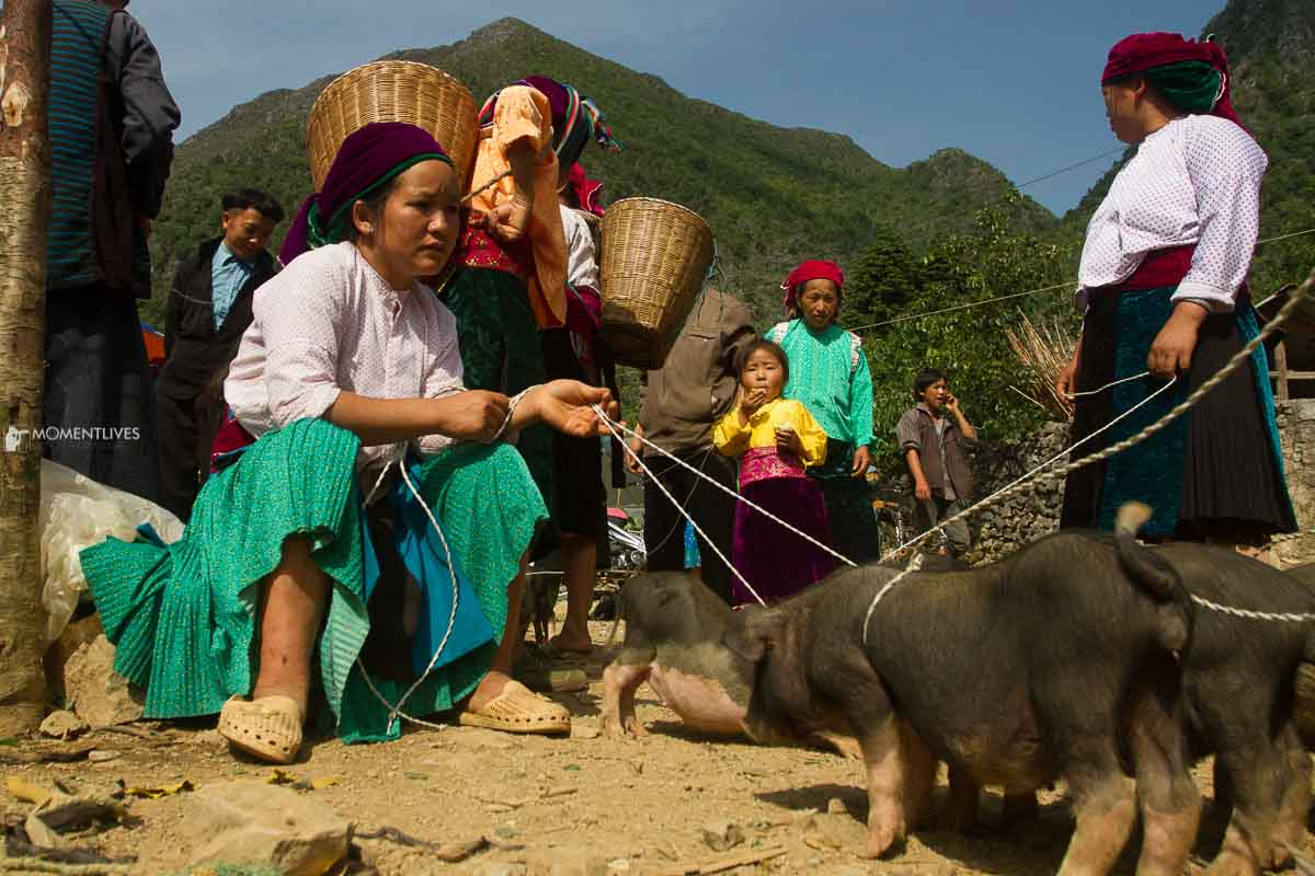 Photo tour to Sa Phin market, Ha Giang