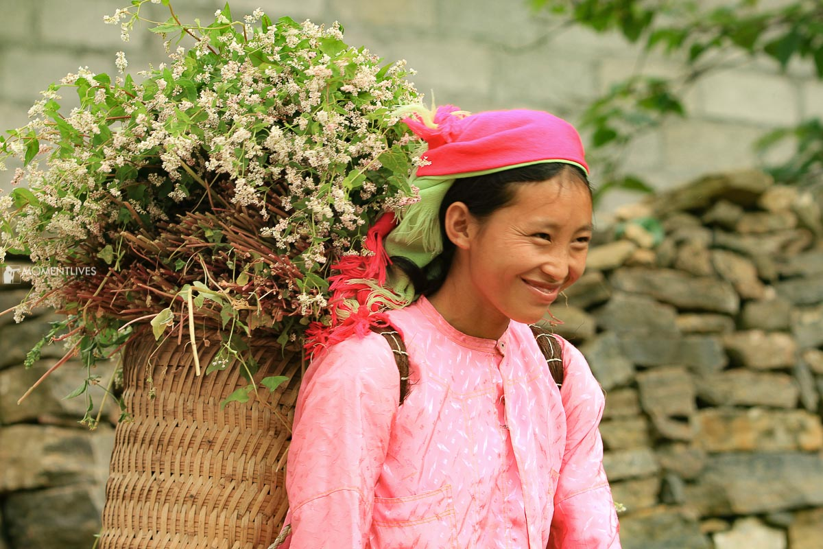 A H'mong girl in Ha Giang