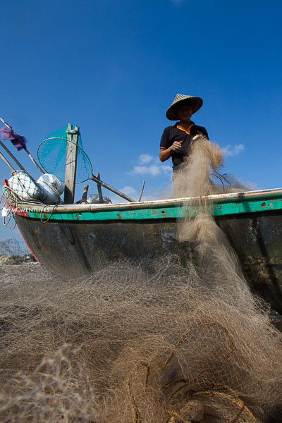 Vietnam fishing village photography